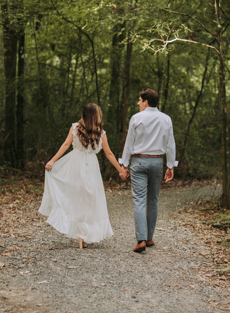 Forest Engagement Session (Taylor + Richie)