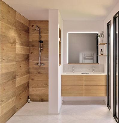 salle de bain - agencement - fouesnant
