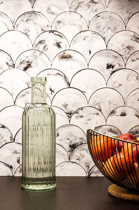 crédence plastique recyclé - architecte