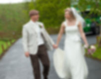 Wedding Photo of Ken and Dawn Clark, Stawell Builders