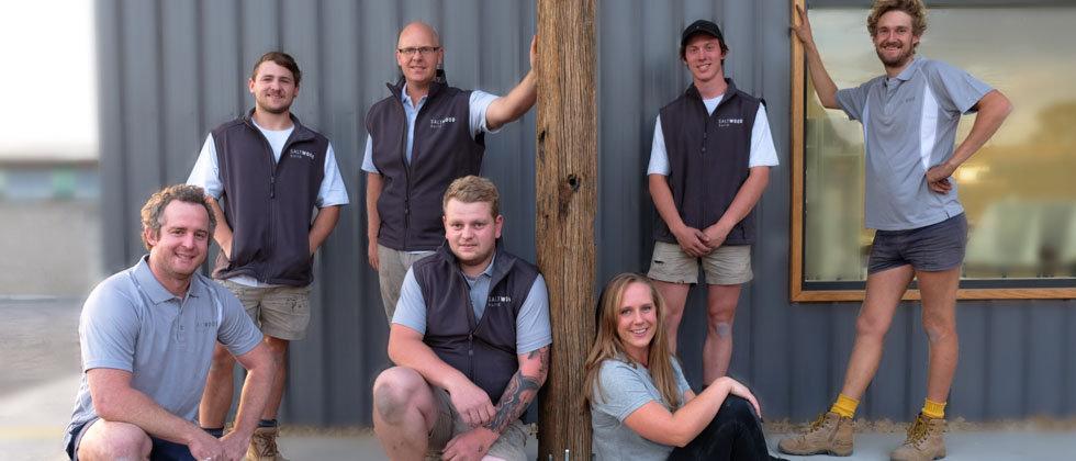 Saltwood Build Team Photo