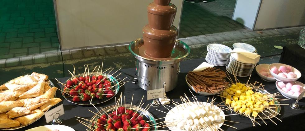 Chocolate Fondue Station