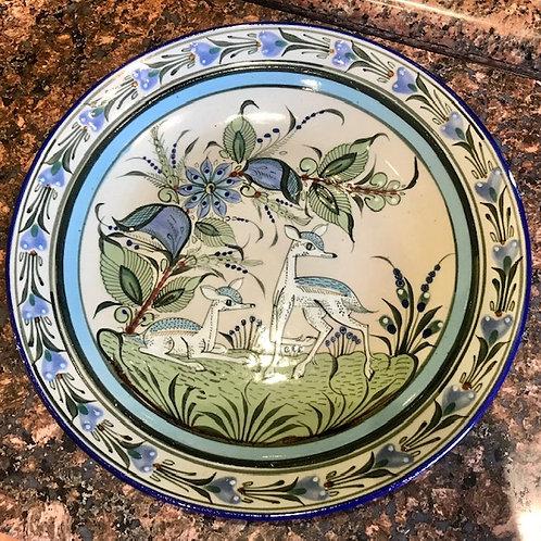 Ken Edwards large pottery plate