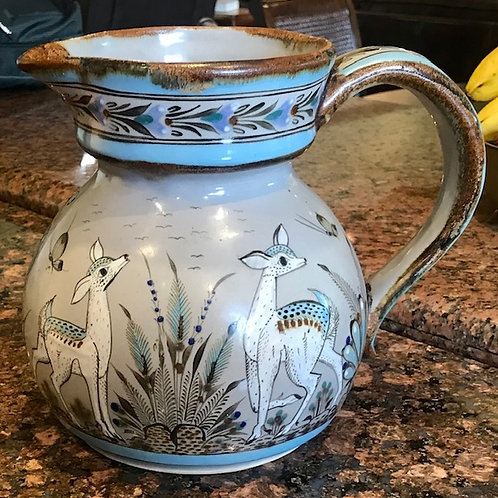 Ken Edwards pottery pitcher