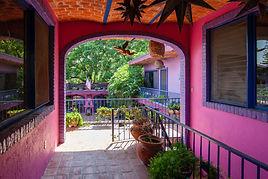 Entrance to Hacienda del Sol