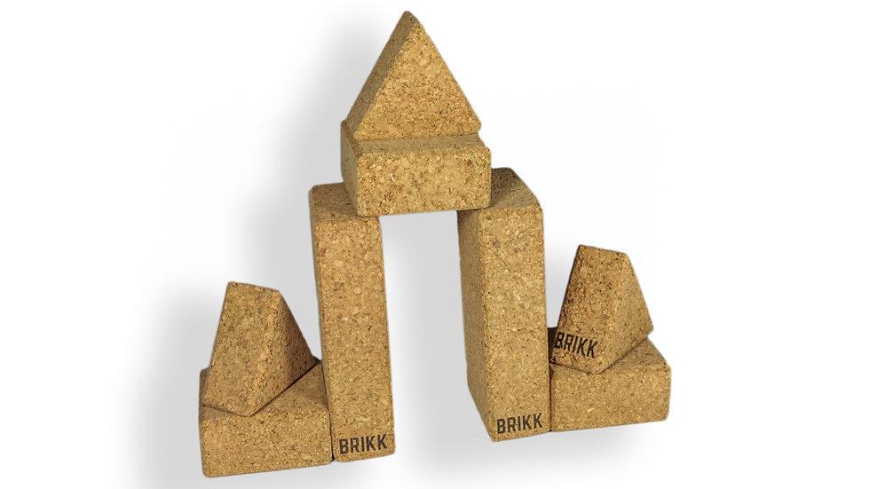 BRIKK paquete de construcción Rectos Grande