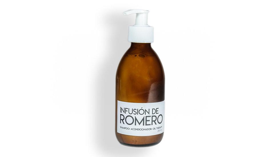 Infusión de Romero - Shampoo, acondicionador y oil 1 LT