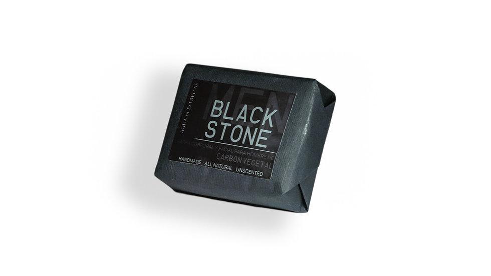Black Stone jabón para hombres by Agua de Estrellas