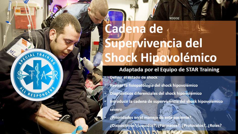 Cadena de Supervivencia- Shock Hipovolémico