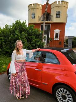 Our car & apartment