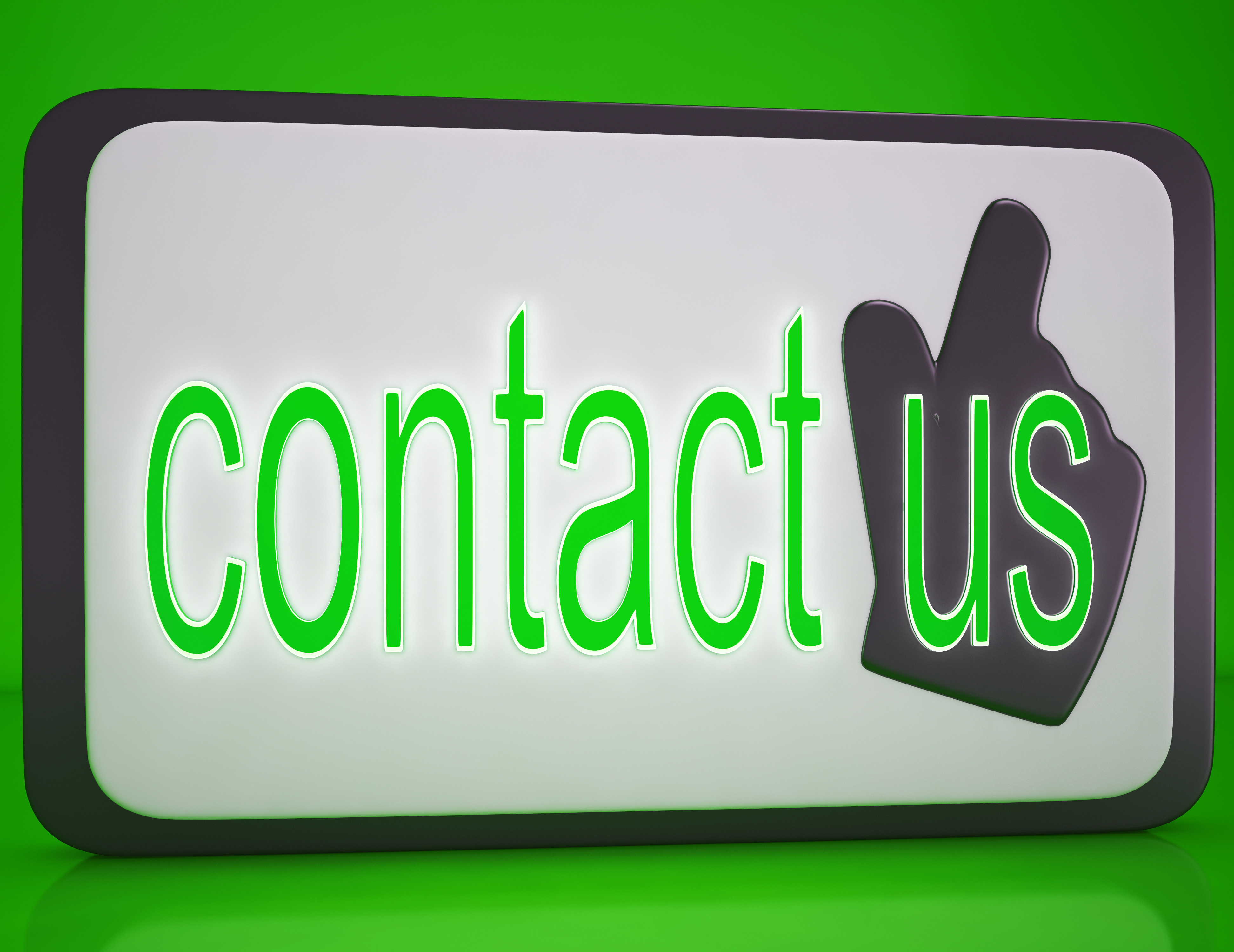 contact-us-button-showing-customer-servi