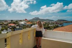 View from Het Kasteel Curacao