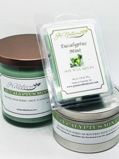 Eucalyptus Mint Soy Candle