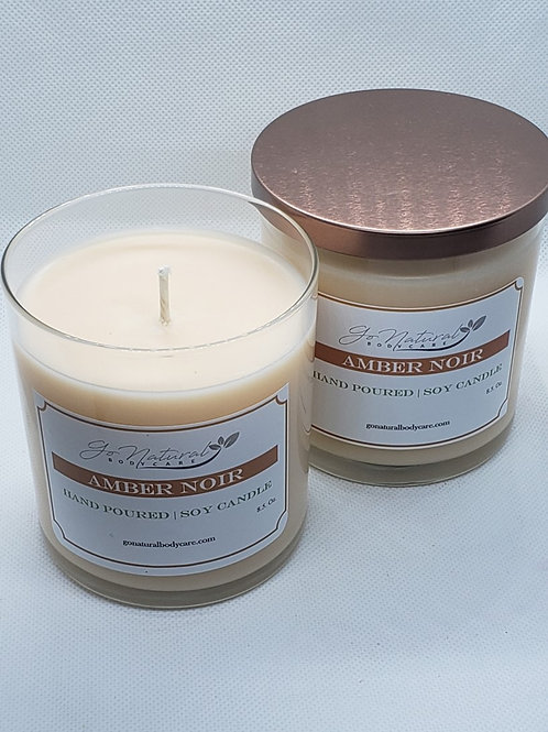 Amber Noir Soy Candle