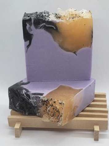 Black Amber Lavender Soap