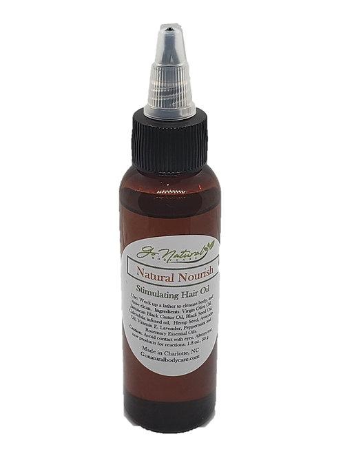 Natural Nourish Stimulating Hair Oil