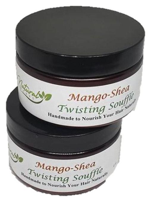 Mango-Shea Twisting Souffle