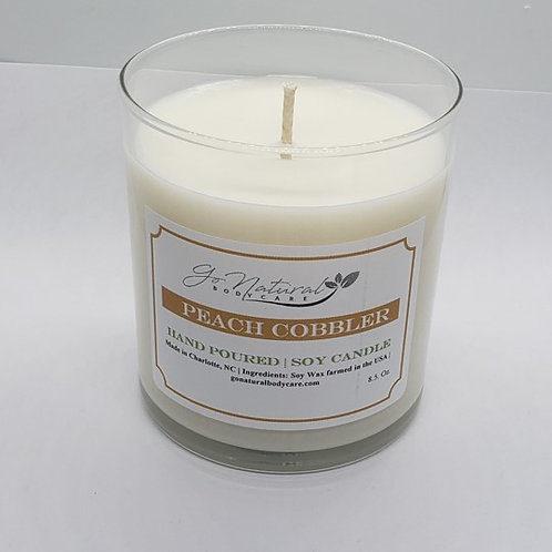 Peach Cobbler Soy Candle