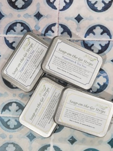 Soap-On-The-Go Strips
