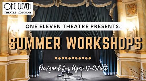 Summer Workshops Header
