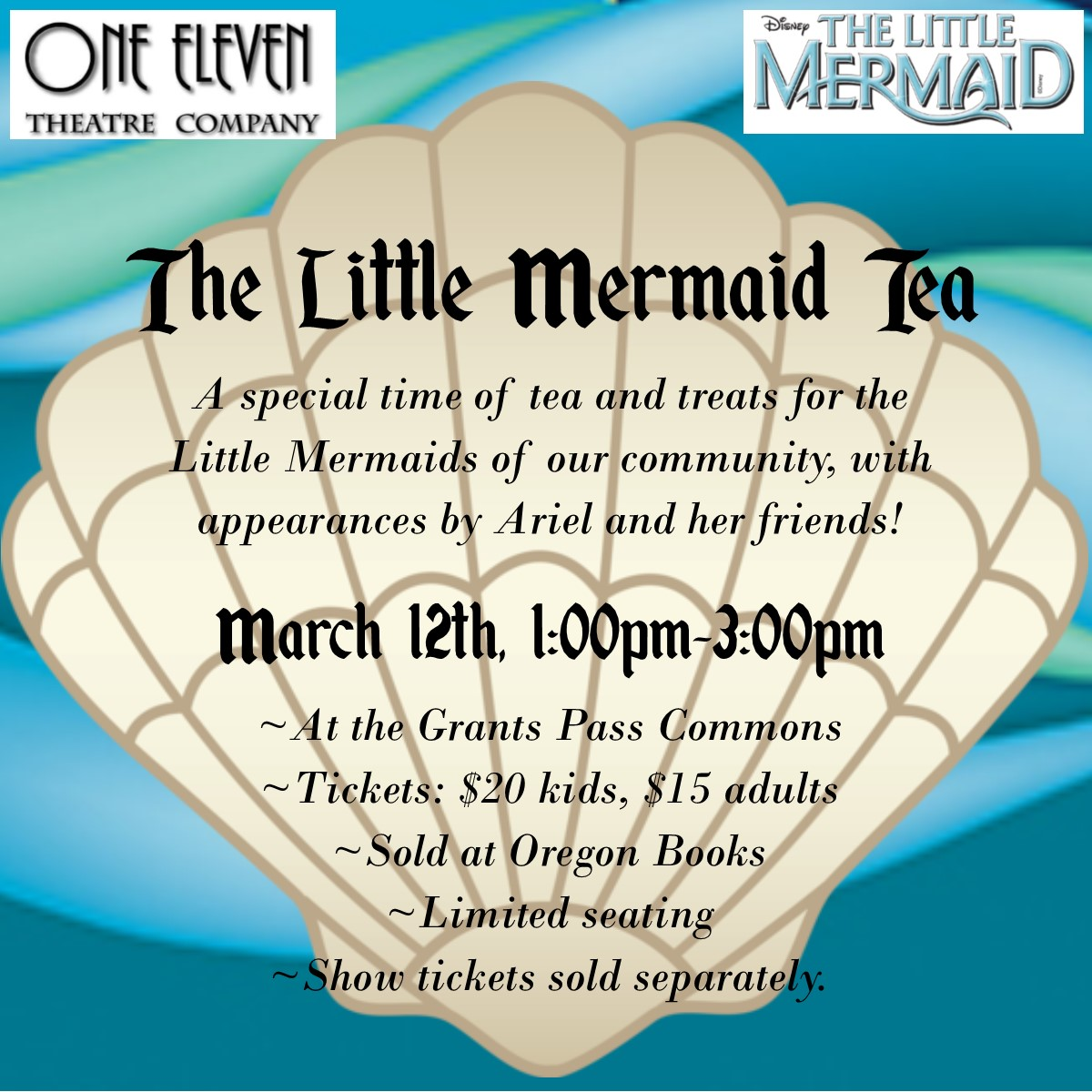 Little Mermaid Tea