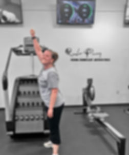 Rhonda Perry Personal Training Client at Motifaith Fitness