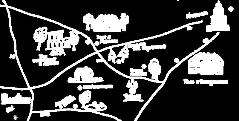 mapa Mietła próba milion2 z zaznaczonym