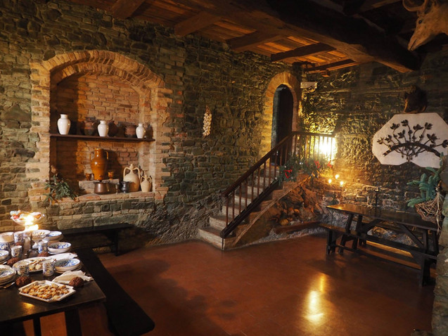 Gropparel Castle oude keukens