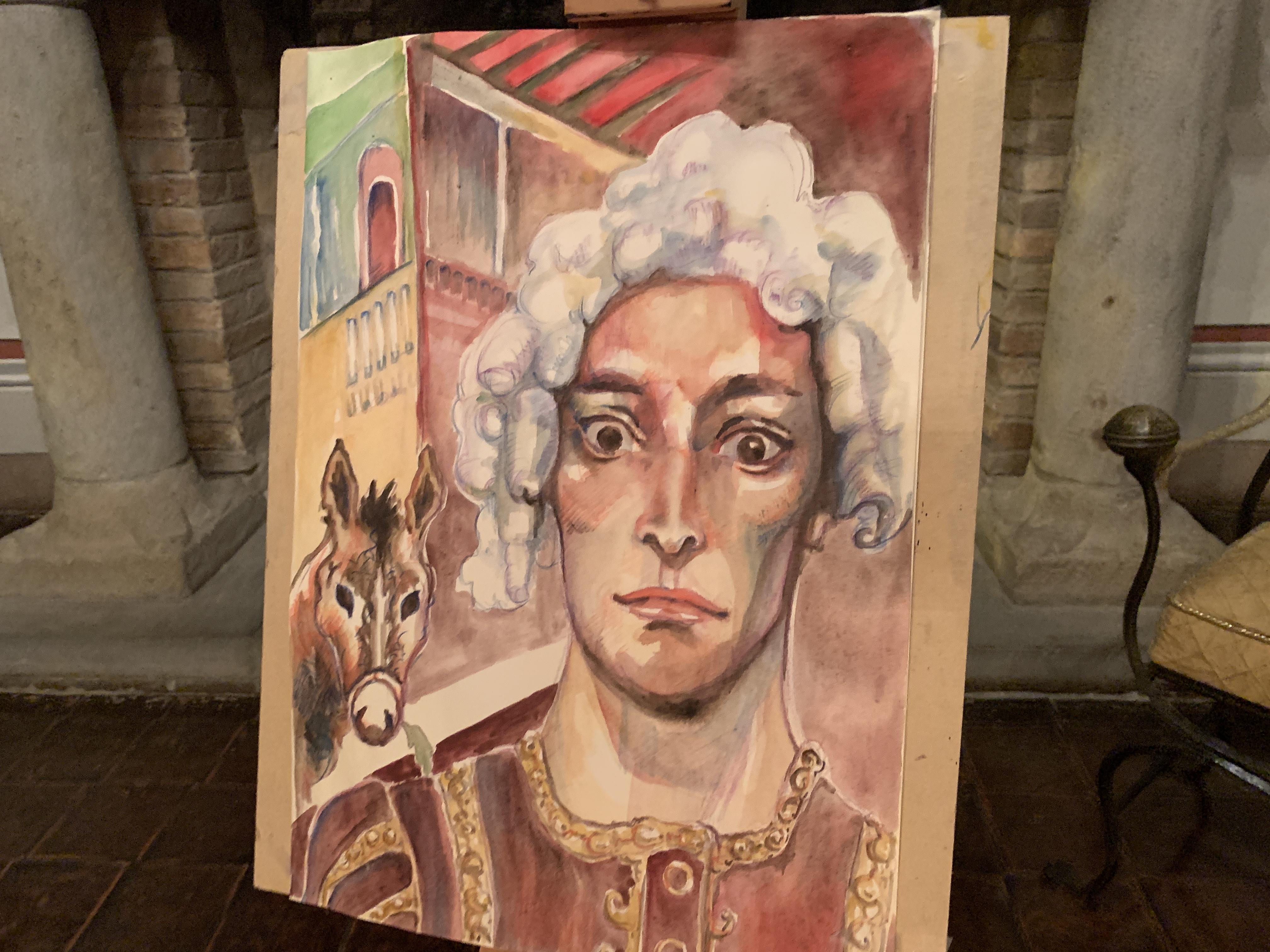 il ritratto del Trisconte