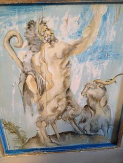 affreschi mitologici per ill bagno