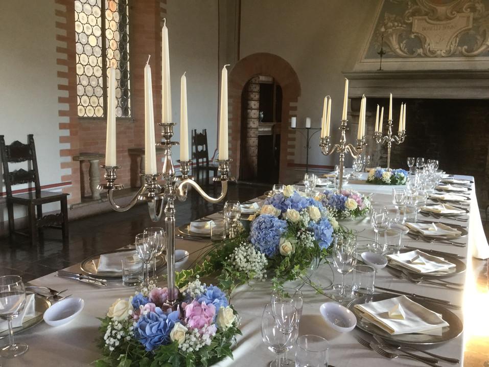 Keizerlijke tafel in de Wapenzaal