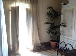 la prima stanza che accoglie gli Ospiti nella Torre del Barbagianni