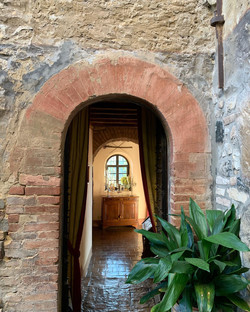 L'ingresso alla sala da pranzo