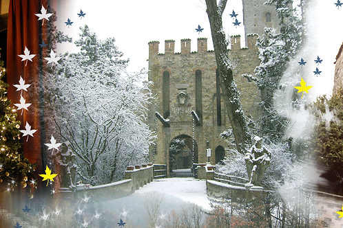 Visita guidata al Castello Incantato con Pranzo alla Taverna (due portate)