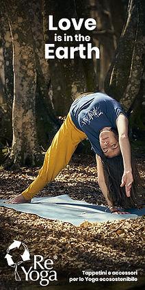 reyoga tappetini e accessori yoga eco sostenibile