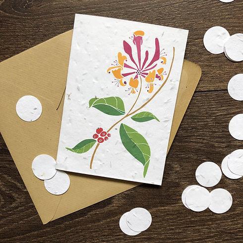 Honeysuckle Plantable Card.jpg