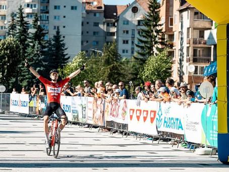 Daniel Auer gewinnt die letzte Etappe der Tour of Szeklerland