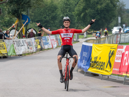 Sieg für Daniel Auer bei den Erlauftaler Radsporttagen in Wieselburg