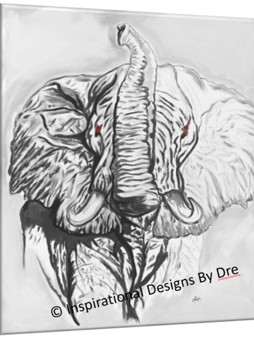 Elephant 2 Grey