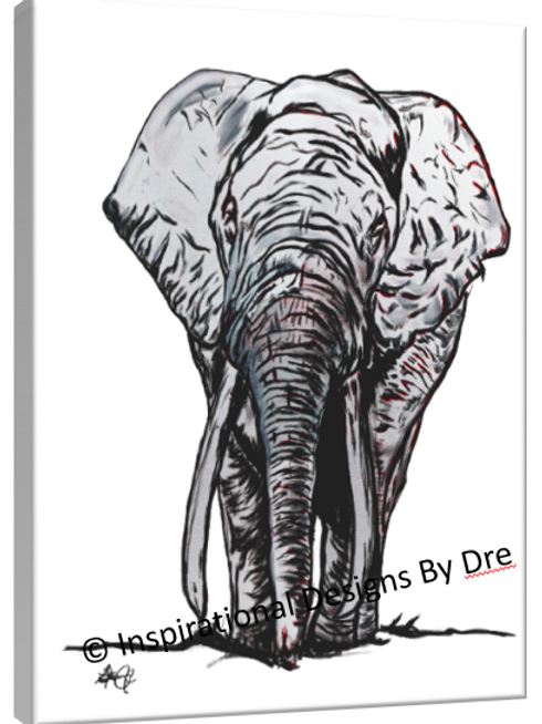 Grey Elephant #1