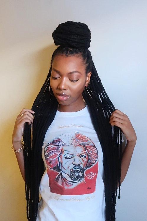 Frederick Douglass T-shirt Women Size