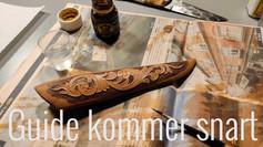 Farvning af læderskede - KOMMER SNART