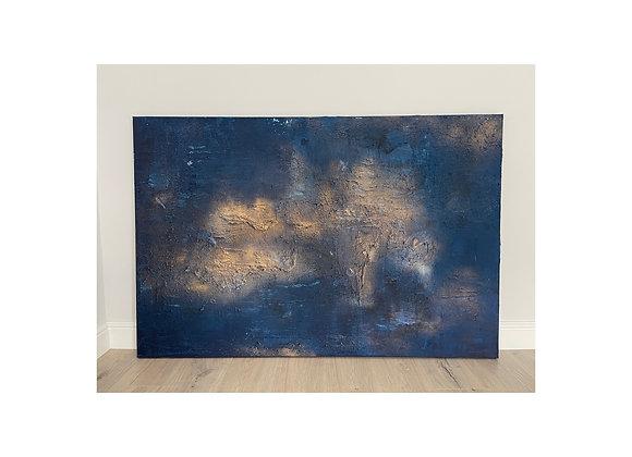 'Blue Moon' - 150 x 100 cm