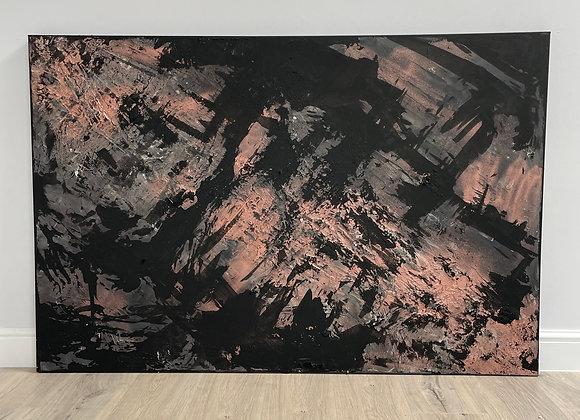 'Cu' - 150 x 100 cm