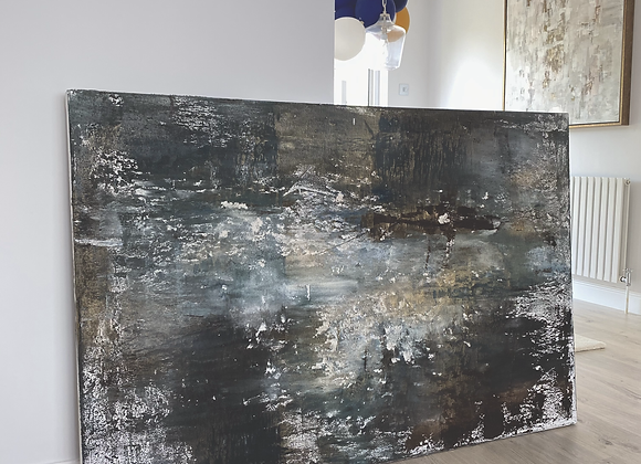 'Storm At Sea' - 150 x 100 cm