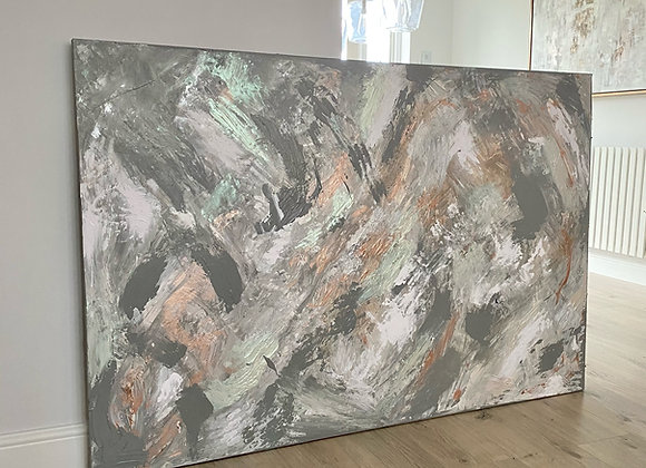 'Dead Salmon' - 150 x 100 cm