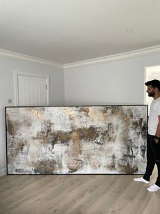 270 x 130 cm commission