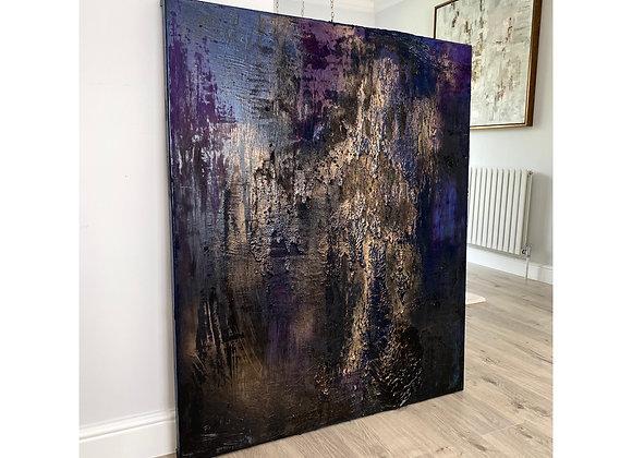 'Night Sky'- 120 x 100 cm