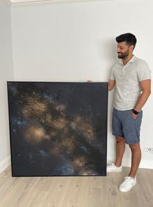 Galaxy Night Sky Commission