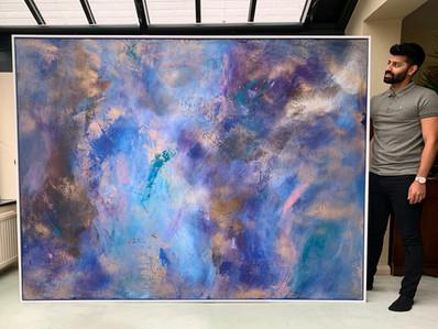 Commission 240 x 220 cm